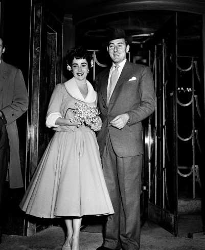 Elizabeth Taylor - Michael Wilding Wedding