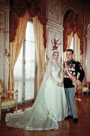 Grace Kelly and Prince Rainier