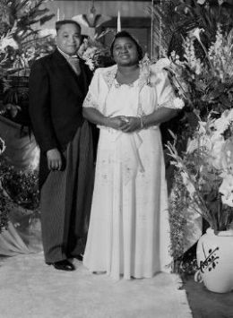 Hattie McDaniel and James Lloyd Crawford