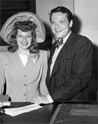 Hayworth and Welles