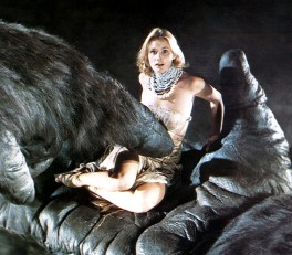 Jessica Lange in KONG KONG 1976