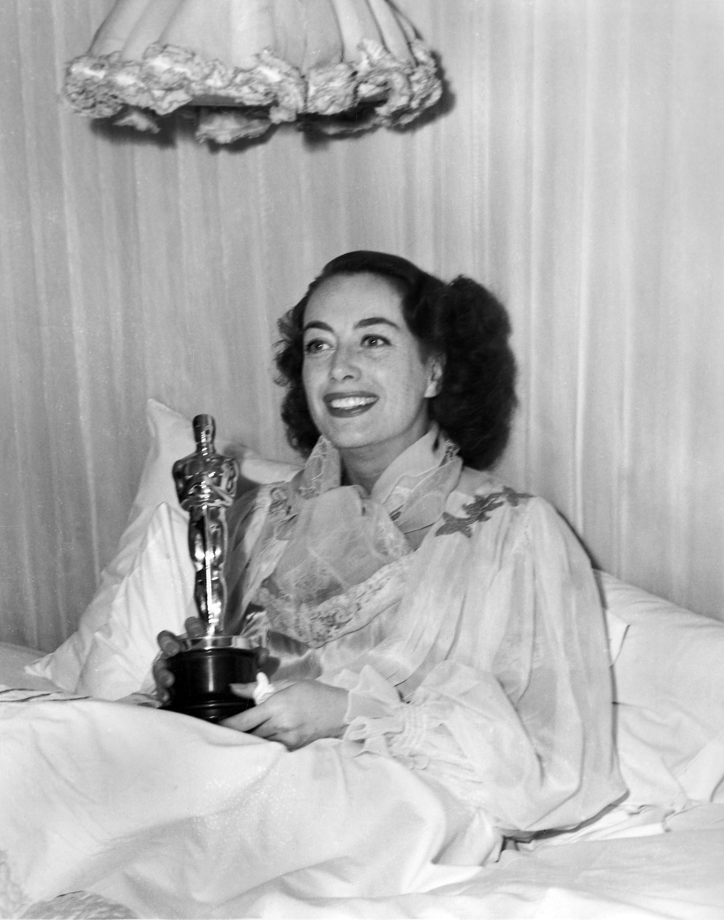 Image result for crawford and her oscar