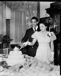Lena Horne and Louis Jordan Jones