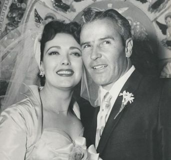 Linda Darnell and Robbie Robertson