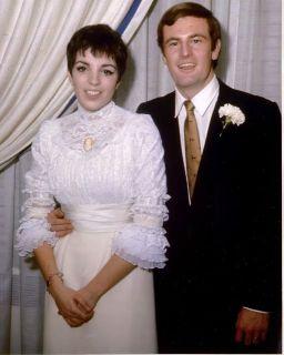 Liza Minelli and Peter Allen