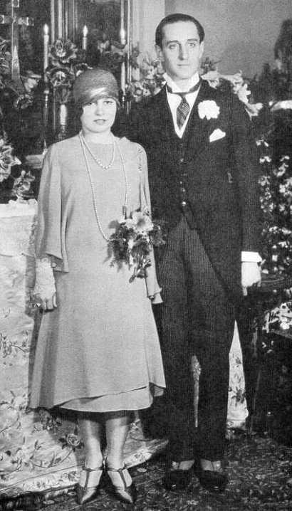 Mr. and Mrs. Basil Rathbone