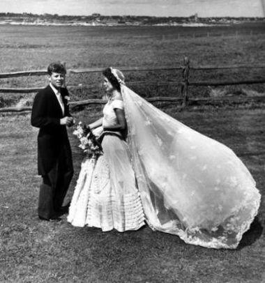 Mr & Mrs John F Kennedy