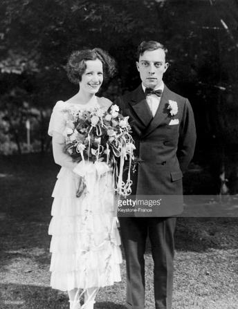 Natalie Talmadge and Buster Keaton