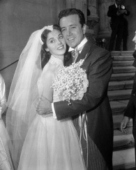 Pier Angeli and Vic Damone
