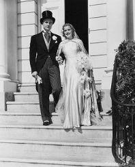 Richard Denning and Ellen Drew