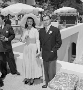 Rita Hayworth and Prince Ali Khan