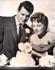 Rock Hudson and Phyllis Gates
