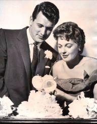 Rock Hudson and Phyllis Gates