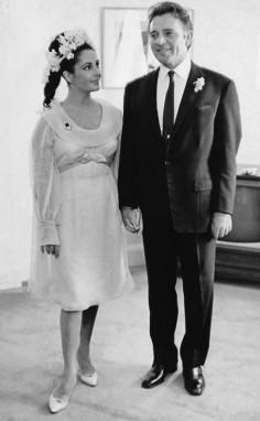 Taylor and Burton wedding