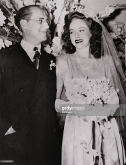 Groucho Marx and Catherine Gorcy