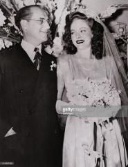 Groucho Marx and Catherine Gorcy