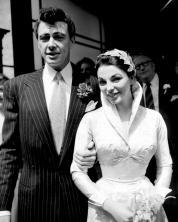 Maxwell Reed & Joan Collins wedding