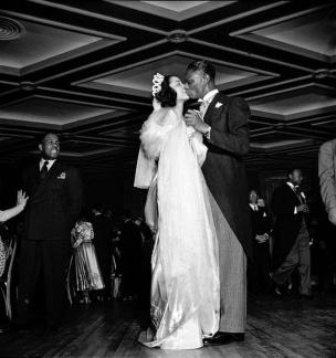Nat King Cole and Maria Hawkins Ellington