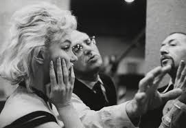 Directing Marilyn in Let's Make Love 1960