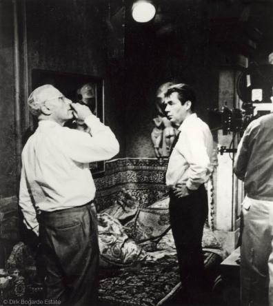 On set of Justine 1969