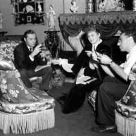 On the set of Gaslight 1944