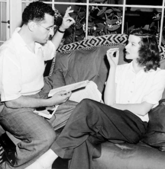 With his most frequent leading lady, Katharine Hepburn
