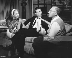 With Jane Fonda and Efrem Zimbalist Jr
