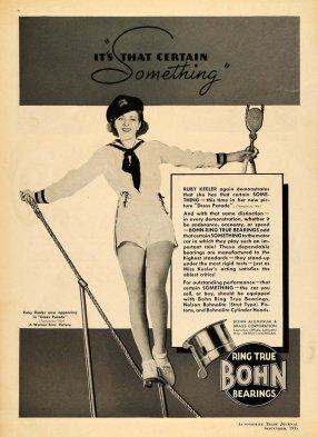 1935 Bohn Bearings ad