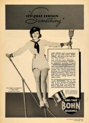 1935 Bohn Bearings ad