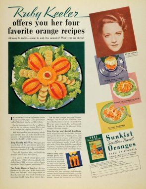 1936 for Sunkist Naval Oranges