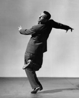 Dancing in suit