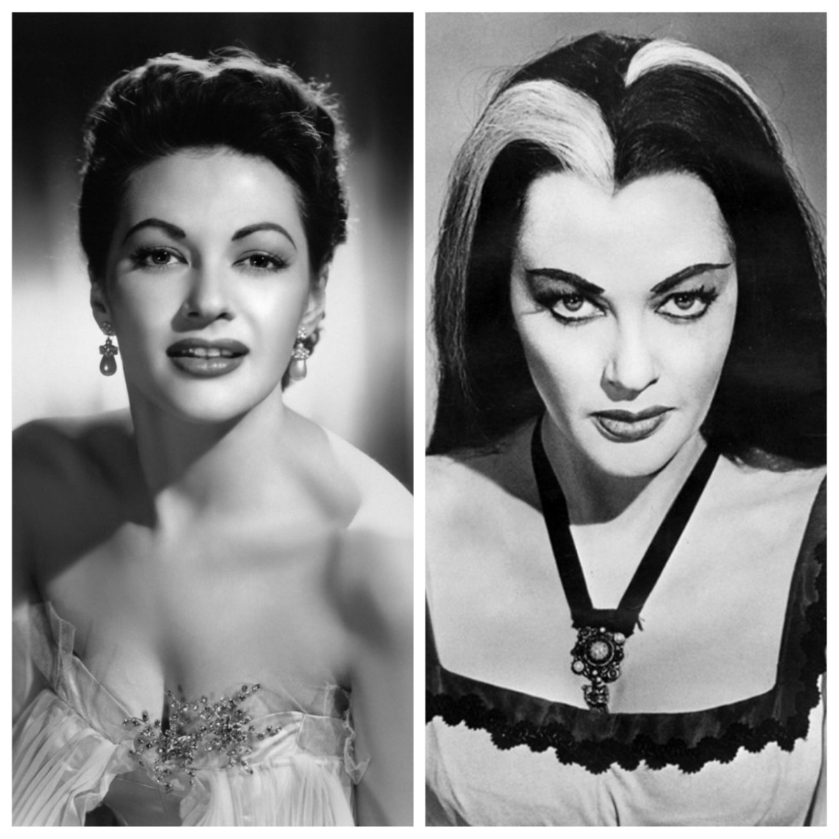 Yvonne De Carlo, The Movie Star Munster