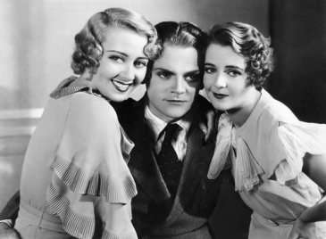 Joan Blondell, James Cagney and Ruby Keeler