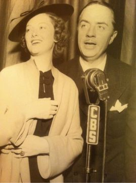 Loy and Powell on the radio