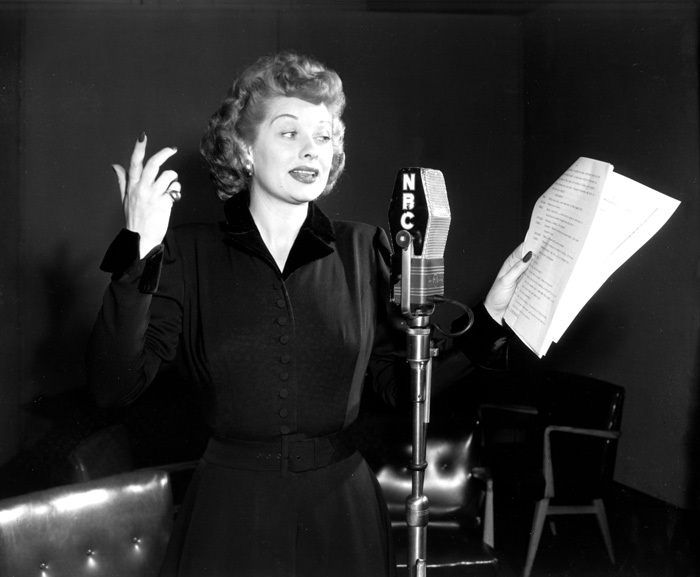 "Lucille Ball, Star of ""My Favorite Husband"""