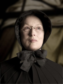 As Sister Aloysius in DOUBT