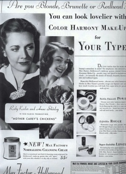 Ruby Keeler and Anne Shirley for Max Factor