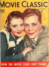 Ruby Keeler and frequent co-sar Dick Powell, Sept 1934