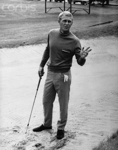 Publicity Photograph of Steve McQueen