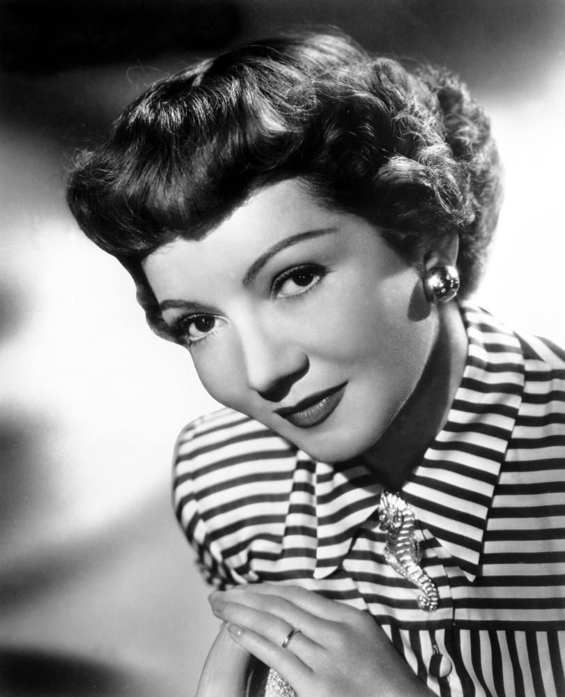 Claudette Colbert On the Radio