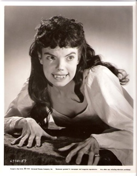 Andree Melly as Gina in Brides of Dracula, 1960