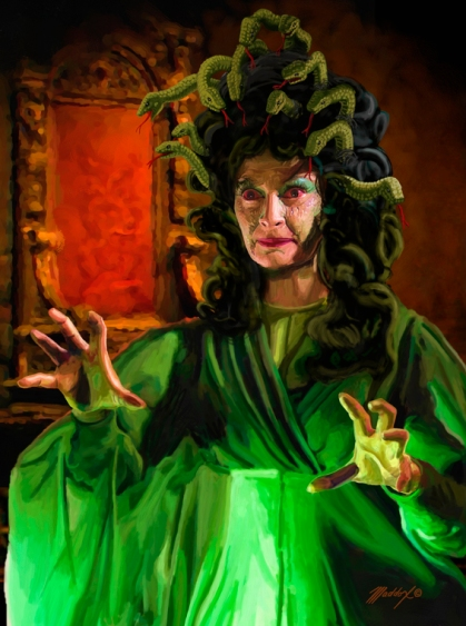 Barbara Shelley THE GORGON