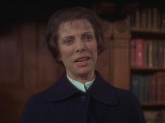 Billie Whitelaw as Mrs. Baylock THE OMEN 1976