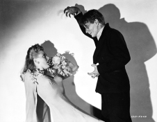 Evelyn Ankers and David Bruce in The Mad Ghoul (1943)