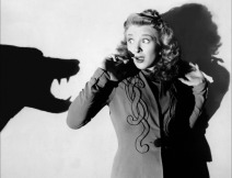 Evelyn Ankers in WOLF MAN publicity shot
