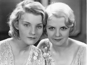Helen Chandler and Frances Dade in DRACULA 1931