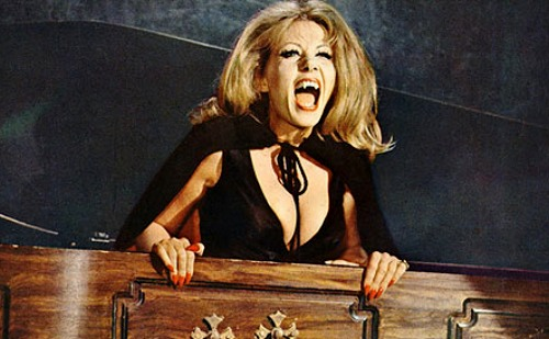 Ingrid Pitt as Countess Dracula THE HOUSE THAT DRIPPED BLOOD