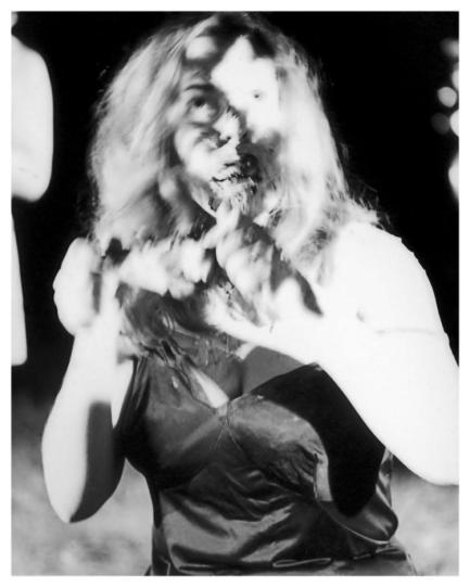 "Kyra Schon in ""Night of the Living Dead"" in 1968."