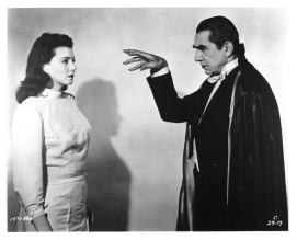 Lenore Aubert & Bela Lugosi in Abbott & Costello Meet Frankenstein