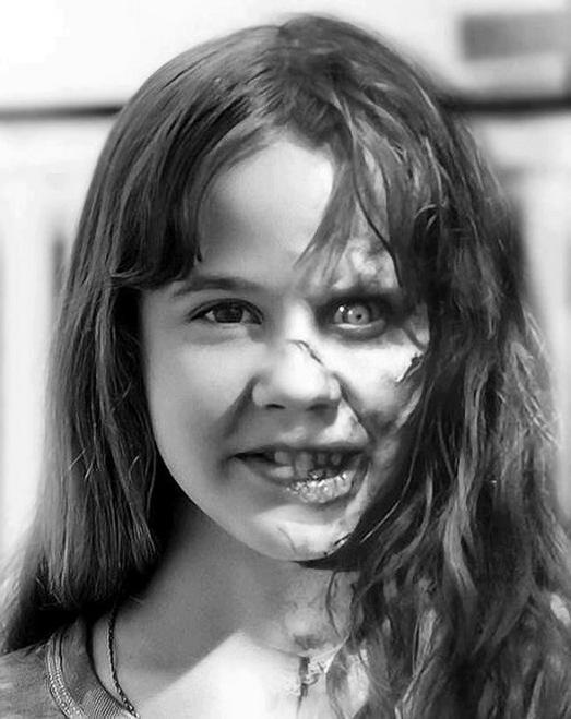 Linda Blair as Regan MacNeil in THE EXORCIST